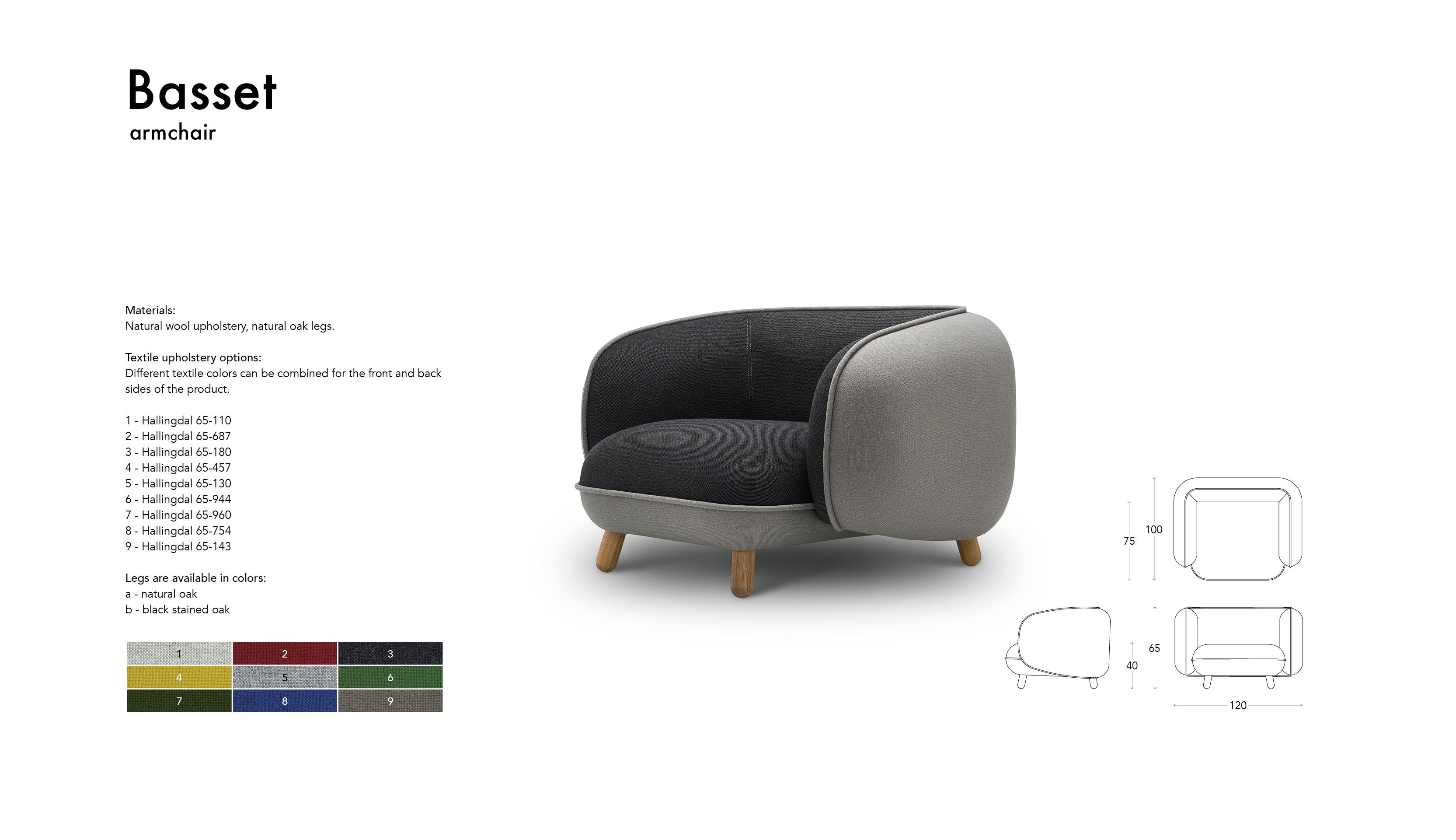 Basset armchair 1